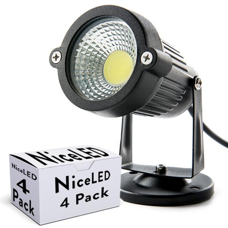 Lotes 4 Foco LED COB Jardínes 5W 450Lm 30.000H - Imagen 1