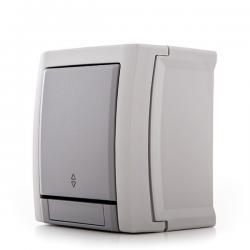 Conmutador Panasonic Pacific 10A 250V IP54 Gris