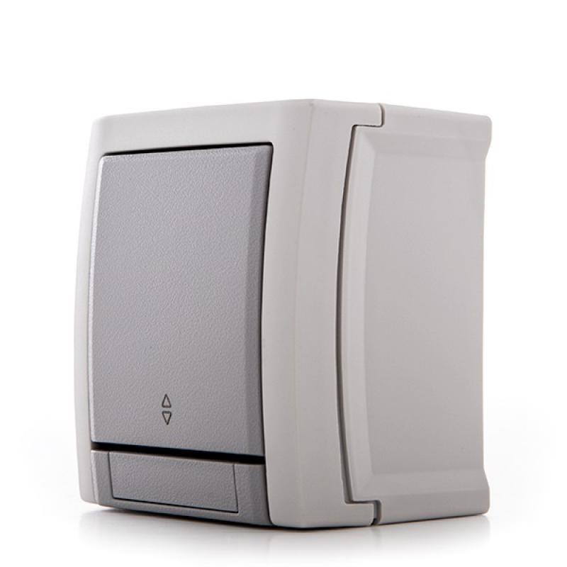 Conmutador Panasonic Pacific 10A 250V IP54 Gris - Imagen 1
