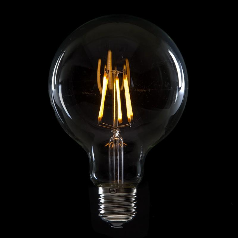 Bombilla Led Filamento Vintage G95 E27 6W 600Lm Isla - Imagen 1