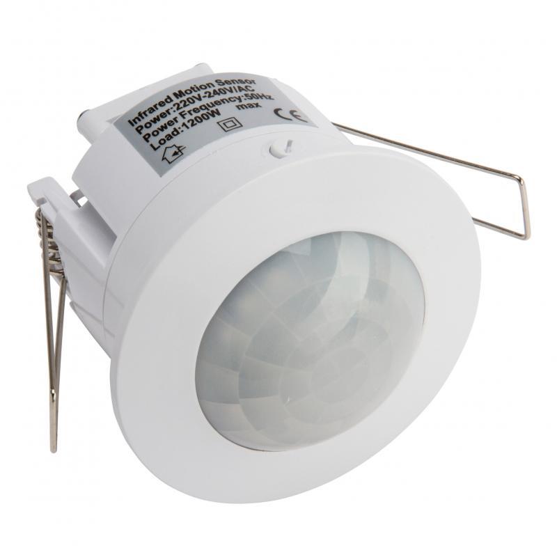 Sensor Movimiento Empotrar 360º ►1200/300W - Imagen 1
