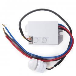 Sensor Movimiento Empotrar Mini 140º ►300W - Imagen 1