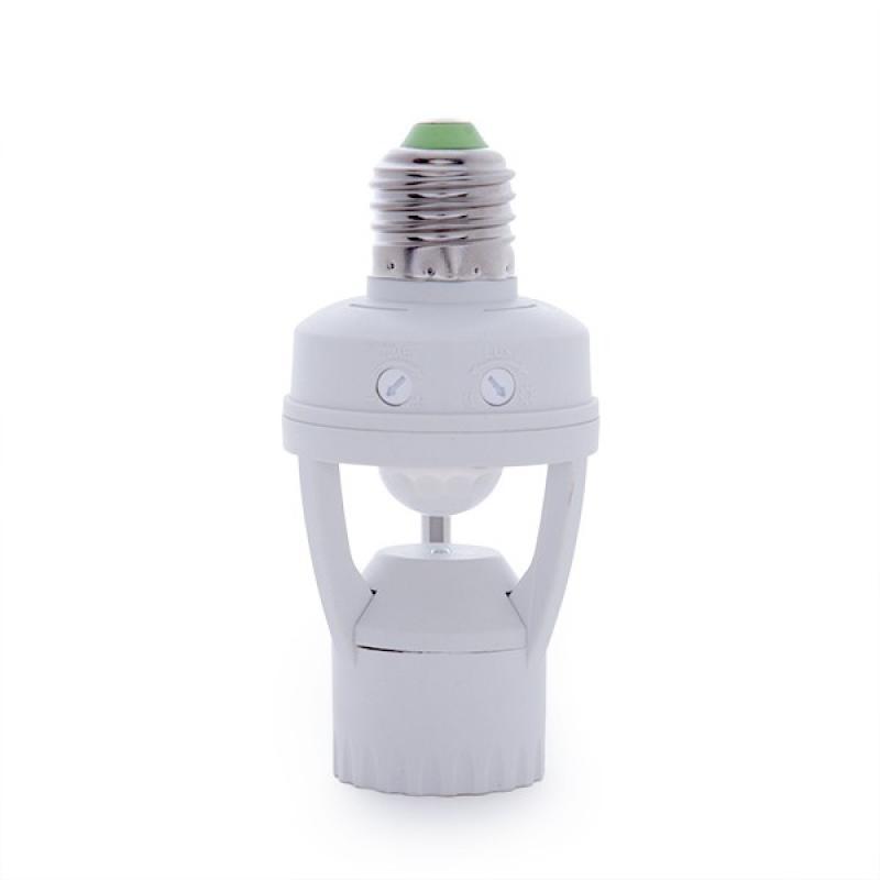 Adaptador E27 Detector de Proximidad - Sensor Crepuscular - Imagen 1
