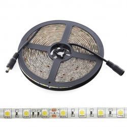 Tira LED 5M 300 LEDs 60W SMD5050 24VDC IP65