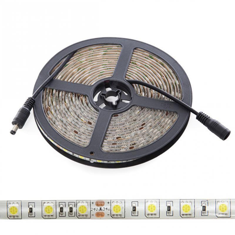 Tira LED 5M 300 LEDs 60W SMD5050 24VDC IP65 - Imagen 1