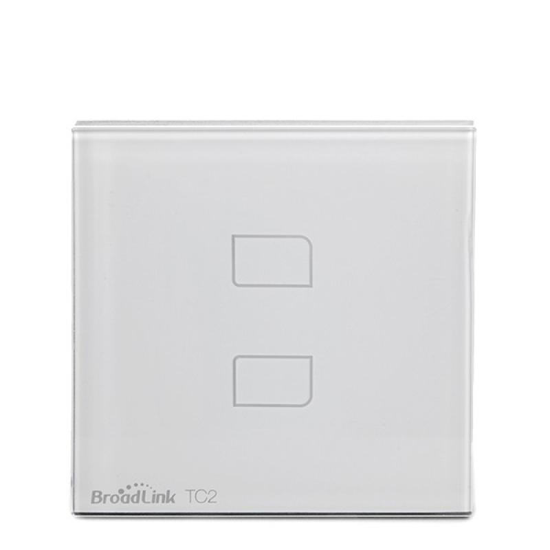Interruptor Táctil Pared Inteligente Broadlink Basic - Doble - Imagen 1