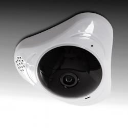 Cámara Wifi 1,3Mp 360º Ojo de Pez. Detección Proximidad. Audio Bidireccional. Plug & View - Imagen 1