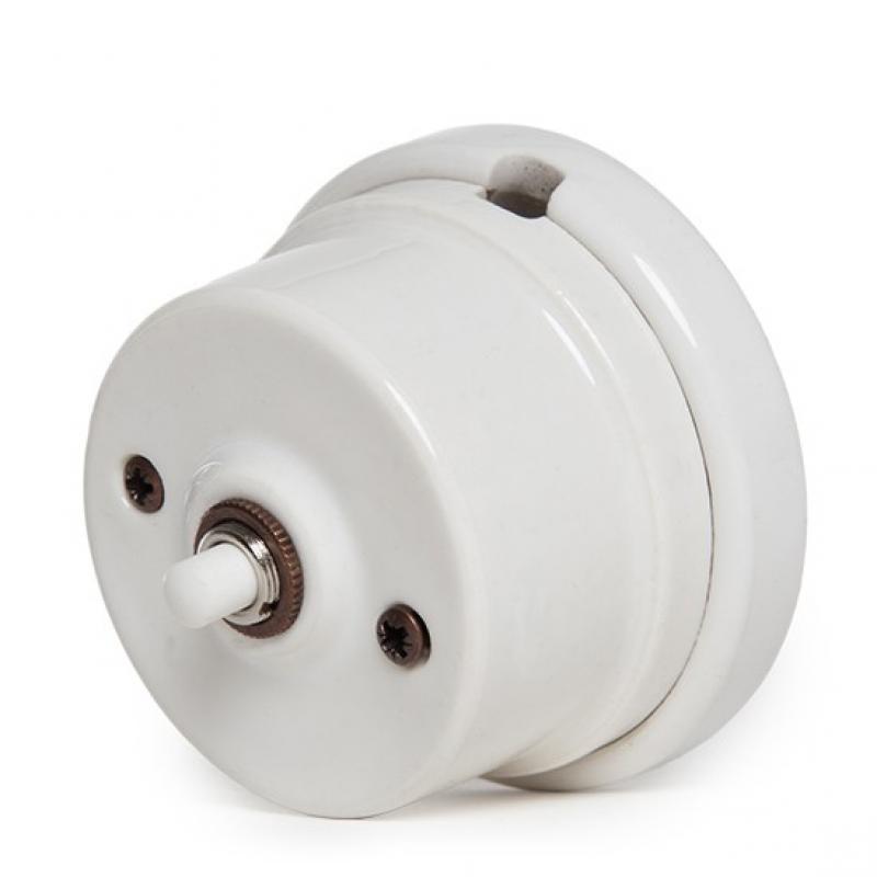 Pulsador Porcelana Entrada Doble - Imagen 1