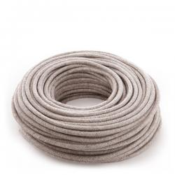 Cable Lona Beige 2X0,75 (Por Metros)