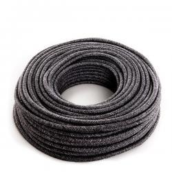Cable Lona Gris Oscuro 2X0,75 (Por Metros)