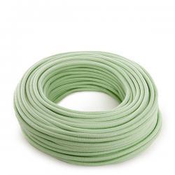 Cable Verde Menta 2X0,75 (Por Metros)