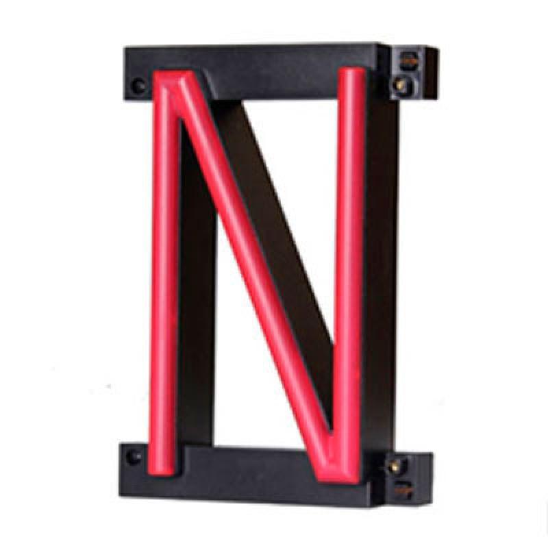 Letra LED Neon N Ancho 97Mm Alto 161Mm Fondo 38Mm - Imagen 1