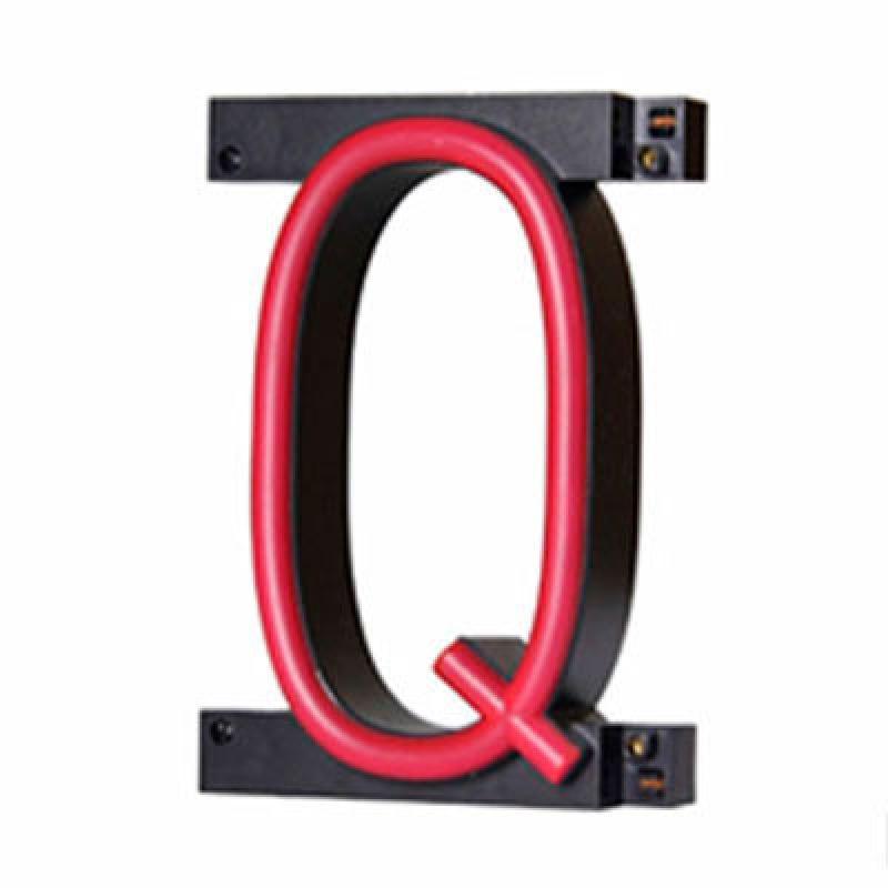 Letra LED Neon Q Ancho 100Mm Alto 161Mm Fondo 38Mm - Imagen 1