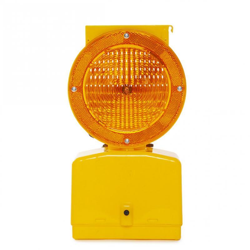 Baliza Solar LED Señalización - Amarillo LK-BSL-2-Y - Imagen 1