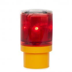 Baliza Solar LED Señalización - Rojo
