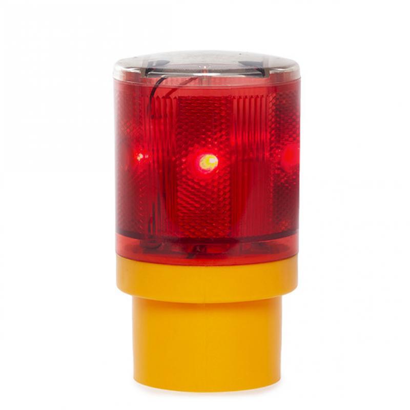 Baliza Solar LED Señalización - Rojo - Imagen 1