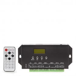 Controlador DMX512 24VDC ► 360 Unidades Ladrillo LED