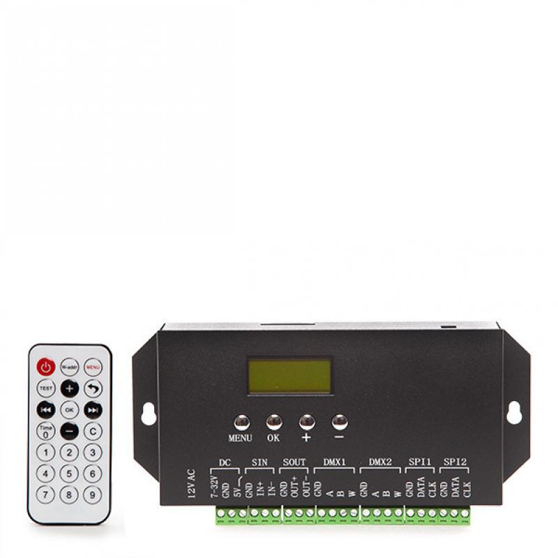 Controlador DMX512 24VDC ► 360 Unidades Ladrillo LED - Imagen 1