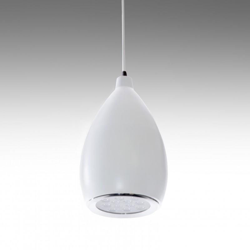 Lámpara LED Suspendida Pera Blanco 12W 1100Lm 30.000H Brooklyn - Imagen 1