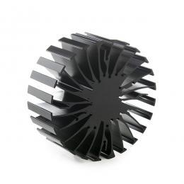 Disipador Térmico Mechatronix Negro Ø99X40 - Imagen 2