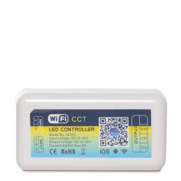 Controlador Wifi Tira LED Cct Variable Compatible Alexa - Imagen 2