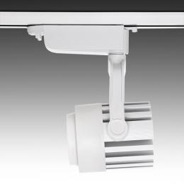 Foco Carril LED Monofásico 30W 2600Lm 30.000H Faith IDI-FC-D-30-CW - Imagen 2