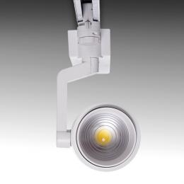 Foco Carril LED Trifásico Apertura Variable 10-60º 30W 2700Lm 50.000H Khloe - Imagen 2