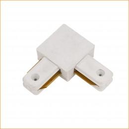Conector 90º Carril Monofásico Blanco - Imagen 2