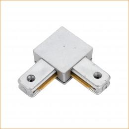 Conector 90º Carril Monofásico Aluminio - Imagen 2