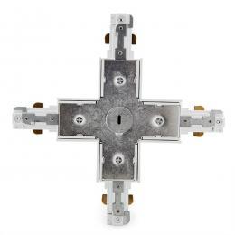 Conector X Carril Bifásico Blanco - Imagen 2