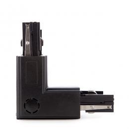 Conector L Carril Trifásico Negro - Imagen 2