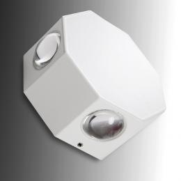 Aplique LED IP65 4X1W RGBw 30.000H Caroline - Imagen 2