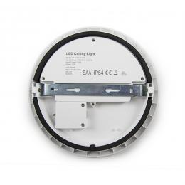 Plafón LED Circular Superficie IP54 Ø250Mm 12W 1086Lm 30.000H - Imagen 2