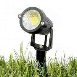 Lotes 4 Foco LED COB con Pincho Jardínes 5W 450Lm 30.000H - Imagen 2