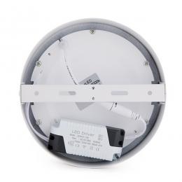Lotes 4 Plafón LED Superficie Ø169Mm 12W 930Lm 30.000H - Imagen 2