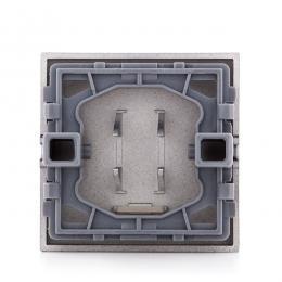 Tecla con Visor Panasonic Novella Interruptor, Conmutador, Fume (Compatible Karre) - Imagen 2