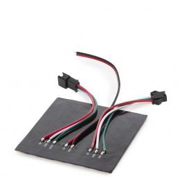 Pantalla Pixel LED 8X8Cm 64 Pîxels 5VDC 19,5W IP30 RGB - Imagen 2