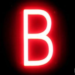 Letra LED Neon B Ancho 92Mm Alto 161Mm Fondo 38Mm - Imagen 2