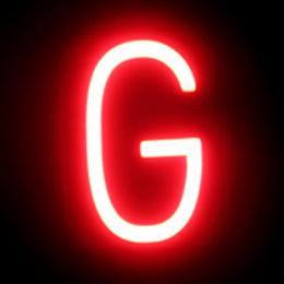 Letra LED Neon G Ancho 100Mm Alto 161Mm Fondo 38Mm - Imagen 2