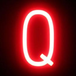 Letra LED Neon Q Ancho 100Mm Alto 161Mm Fondo 38Mm - Imagen 2