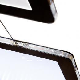 Kit Suspensión Carpeta Poster Display LED A4 2 Caras 12VDC. - Imagen 2