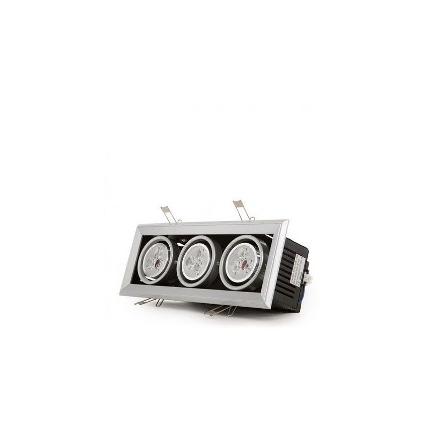 Downlights y Focos LED Empotrables Rectangulares
